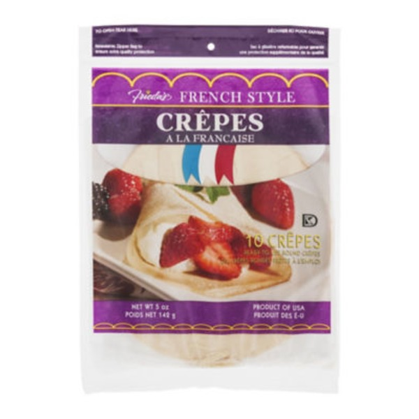 Frieda's French Style Crepes - 10 CT