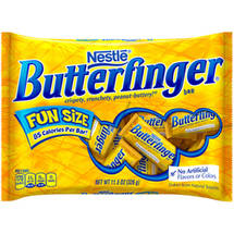 Butterfinger Fun Size Halloween Chocolate Candy Bars