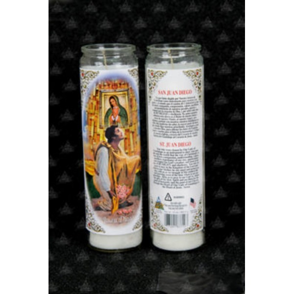 Reed Candle Company The Original Prayer Candle Milagro De Tepeyac White Wax