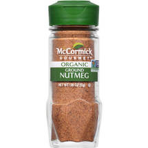 Gourmet Organic Ground 100% Organic Nutmeg