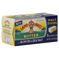 Land O Lakes® With Olive Oil & Sea Salt 8 Ct Butter