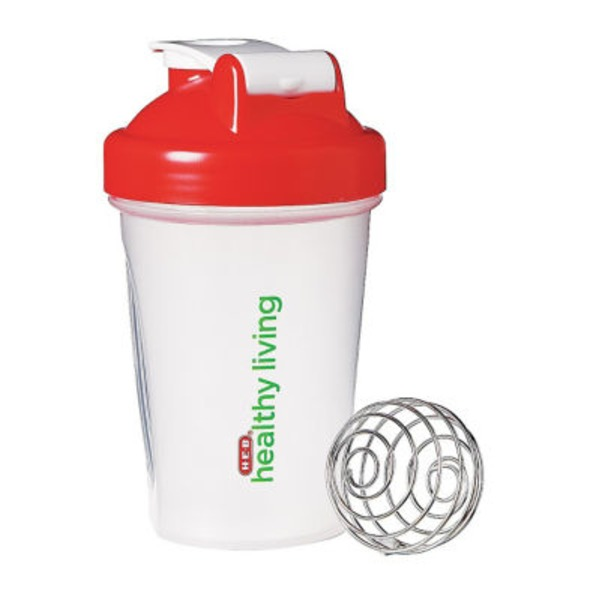 H-E-B Healthy Living Blender Bottle 20 oz Shaker Bottle