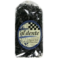 Al Dente Squid Ink Fettuccini