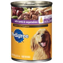 Pedigree W/ Lamb & Vegetables Choice Cuts In Gravy