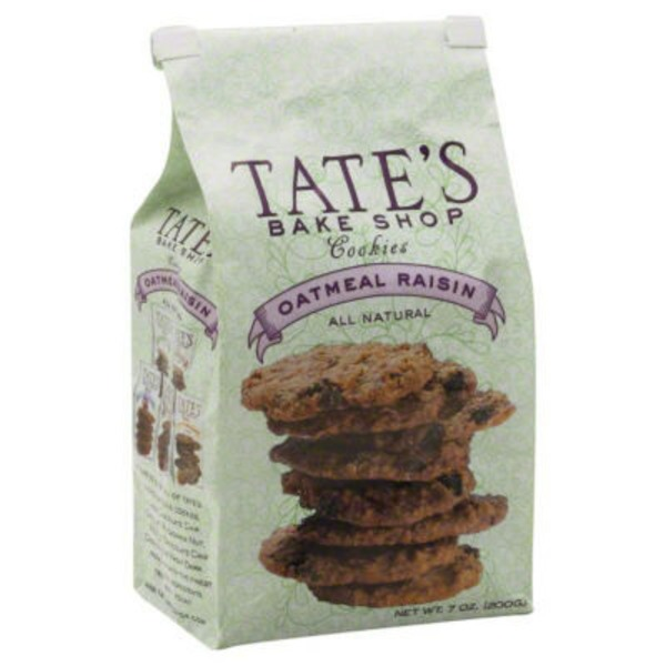 Tate's Bake Shop Oatmeal Raisin Cookies