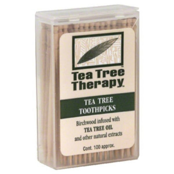 Tea Tree Therapy Toothpicks