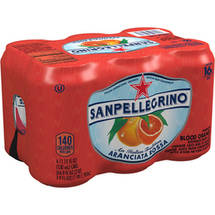 Sanpellegrino Aranciata Rossa Sparkling Blood Orange Beverage