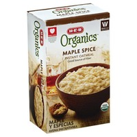 H-E-B Organcis Maple Spice Natural Flavor Instant Oatmeal