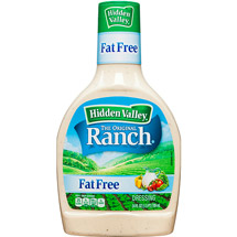 Hidden Valley Original Ranch Fat Free Dressing 24 Fluid Ounce Bottle