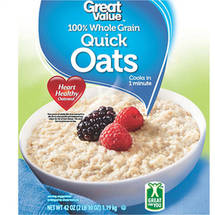 Great Value Oven-Toasted Quick Oats