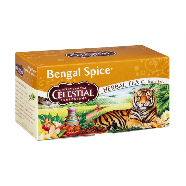 Celestial Seasonings Bengal Spice Caffeine Free Herbal Tea