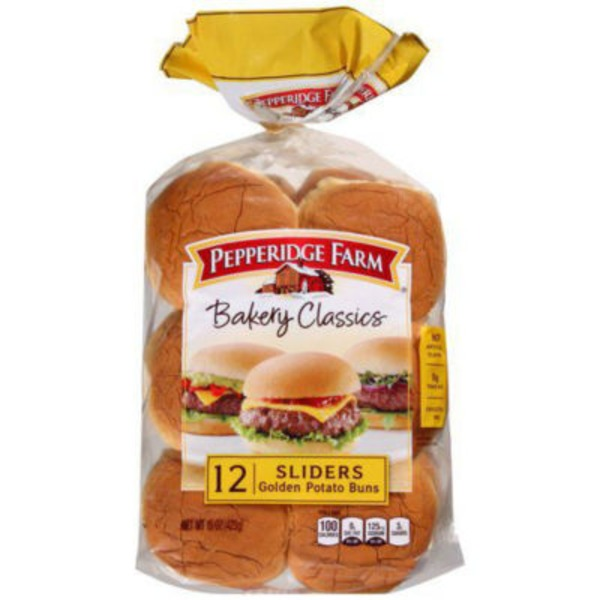 Pepperidge Farm Fresh Bakery Bakery Classics Golden Potato Sliders Buns