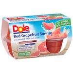Dole Red Grapefruit Sunrise in a Blend of 100% Fruit Juices
