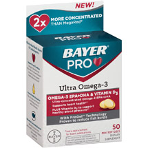Bayer Pro Ultra Omega-3 Dietary Supplement