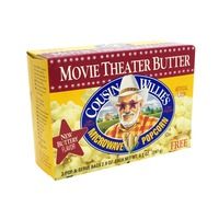 Cousin Willie's Movie Theater Butter Microwave Popcorn