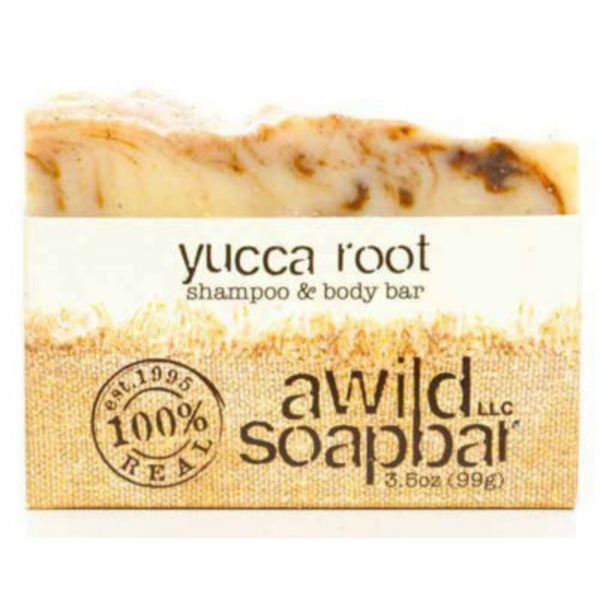 A Wild Soap Bar Organic Yucca Root Shampoo And Body Bar