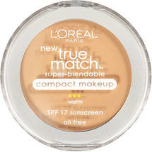 L'Oreal Paris True Match Super-Blendable Compact Makeup  Nude Beige
