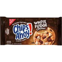 Nabisco Chips Ahoy! White Fudge Chunky Chocolate Chunk Cookies