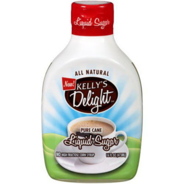 Kelly's Delight All Natural Pure Cane Liquid Sugar