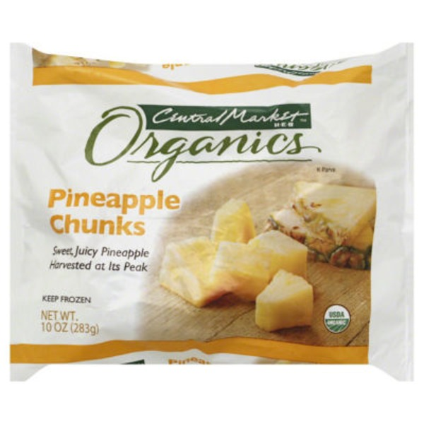 Central Market Frozen Pineapple Chunks