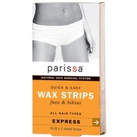 Parissa Wax Strips, Face & Bikini, All Hair Types