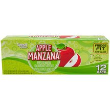 Sam's Artificially Flavored Soda Apple Manzana
