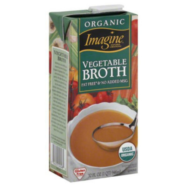 Imagine Foods Broth Vegetable Organic