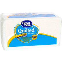Great Value Value Size Quilted Napkins