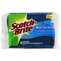 Scotch-Brite Non-Scratch Scrub Sponges - 6 CT