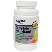 Equate Complete Multivitamin Adults 50+ Multivitamin/Multimineral Supplement Tablets