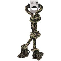 Pet Champion Camo 4 Knot Rope X-Large Dog Toy with Handle