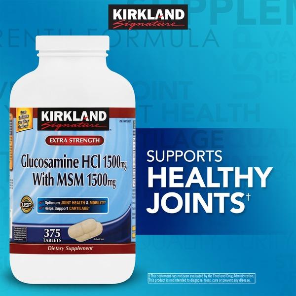 Kirkland Signature Glucasomine With MSM