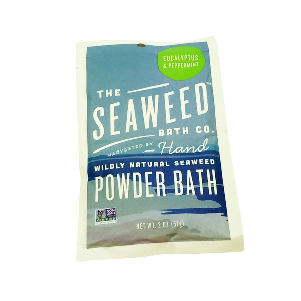 The Seaweed Bath Co. Powder Bath Eucalyptus & Peppermint