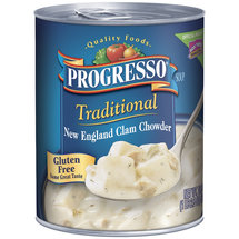 Progresso Traditional New England Clam Chowder Soup