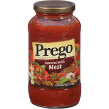 Prego Meat 100% Natural Italian Sauce