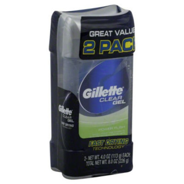 Gillette Sport High Performance Power Rush Clear Gel Anti-Perspirant/Deodorant