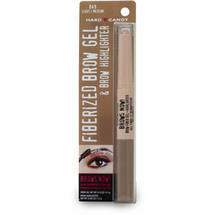 Hard Candy Brows Now! Fiberized Brow Gel & Brow Highlighter Light Medium