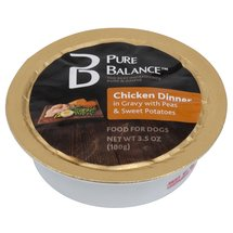 Pure Balance Chicken Dinner in Gravy Canned Dog Food
