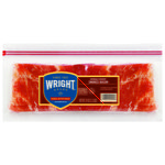 Wright Naturally Hickory Smoked Sliced Bacon