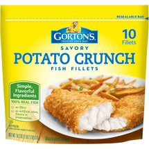 Gortons Potato Crunch In Potato Breading Fish Fillets