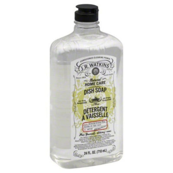 J.R. Watkins Natural Home Care Dish Soap Aloe & Green Tea