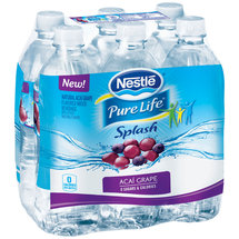 Nestle Splash Acai Grape Water