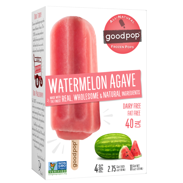 GoodPop Watermelon Agave Frozen Pop