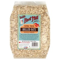 Bob's Red Mill Whole Grain Rolled Oats Extra Thick