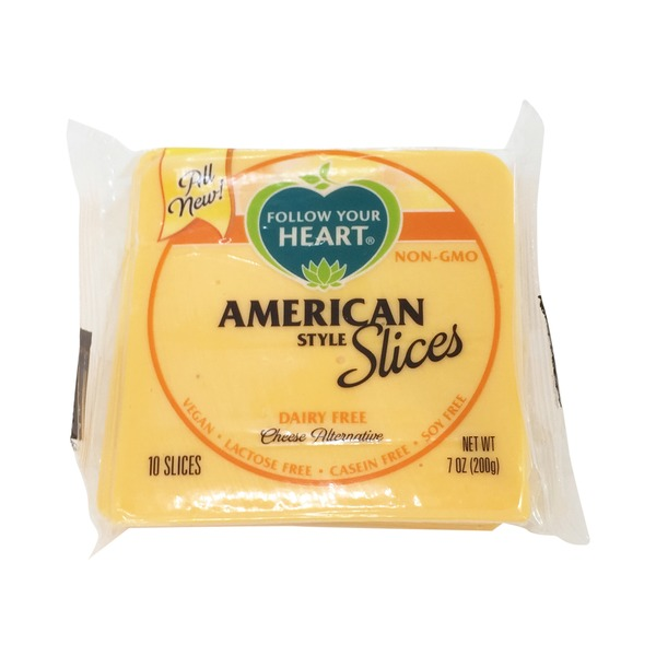Follow Your Heart Cheese Alternative, American Style, Slices