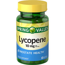 Spring Valley Lycopene Dietary Supplement Softgels