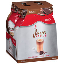 Java House Chilled Mocha Coffee Drink + Milk