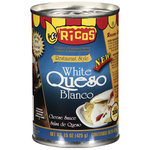 Ricos Restaurant Style White Queso Blanco Cheese Sauce