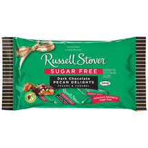 Russell Stover Sugar Free Dark Chocolate Pecan Delights