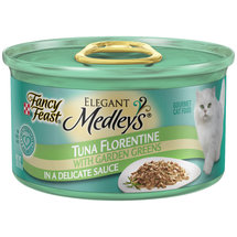Fancy Feast Wet Cat Food Elegant Medleys Tuna Florentine